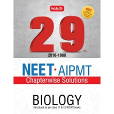 29 Years NEET-AIPMT Chapterwise Solutions - Biology|Infinitimart.com