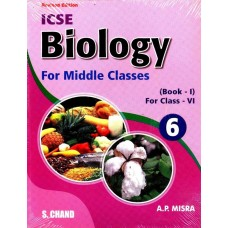 BIOLOGY FOR MIDDLE CLASS-6  (English, A P MISRA)