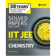 38 Years'' Chapterwise Solved Papers (2016-1979) IIT JEE CHEMISTRY|infinitimart