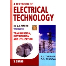 A Textbook of Electrical Technology (Volume - 3) 23 Edition (English)