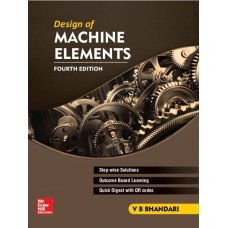 DESIGN OF MACHINE ELEMENTS, 4/ED  (English, Paperback, V B BHANDARI)