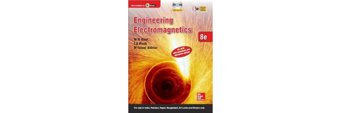 Engineering Electromagnetics (With CD) (English) 8th Edition