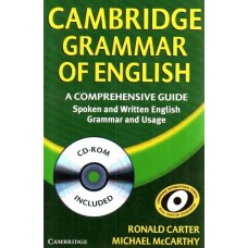 Cambridge Grammar Of English With Cd-rom (south Asian Edition) PB 1 Edition  (English, Paperback cd-rom, Carter Ronald)