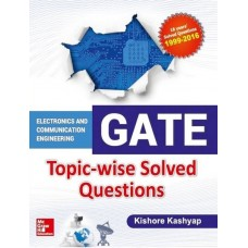 GATE ECE Topic-wise Solved Questions  (English, Paperback, Kishore Kashyap)