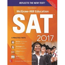 McGraw Hill Education SAT 2017 1 Edition|infinitimart