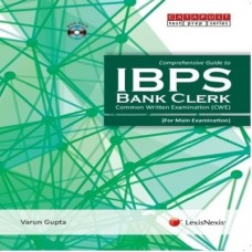 Comprehensive Guide To Ibps–Bank Clerk (With Dvd) Common Written Examination (Cwe) - For Main Examination (English)