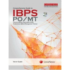 Comprehensive Guide to IBPSPO/MT (Common Written Examination (CWE) Probationary Officers/Management Trainees )-WITH DVD (English) 1st Edition