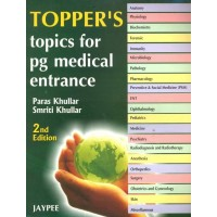 Toppers Topics for PG Medical Entrance 2nd Edition|infinitimart.com