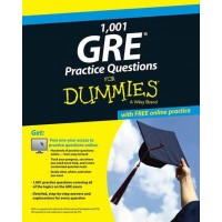 1,001 GRE Practice Questions for Dummies : With Online Practice  (English, Paperback)