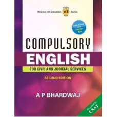 Compulsory English : For Civil and Judicial Services 2nd Edition  (English, Paperback, BHARDWAJ)