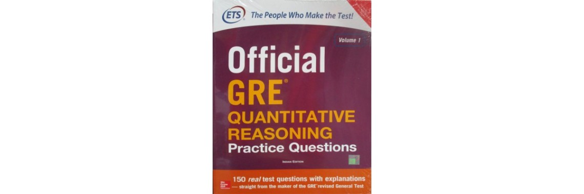 Official Guide to GRE quantitative reasoning