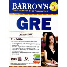 Barron's GRE , 21st Edition [With CDROM] (English) (English)