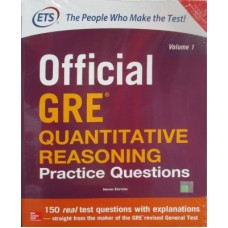 Official GRE Quantitative Reasoning Practice Questions (Volume 1) (English) 1st Edition