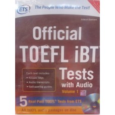 Official Toefl Ibt Vol.1 W/Cd (English) 1st Edition