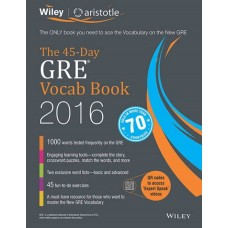 Wiley's The 45-Day GRE Vocab Book 2016 (English)(Paperback, Aristotle Prep)