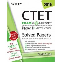 Wiley's CTET, Paper II, Maths / Science: Solved Papers & Mock Tests with Complete Solutions (English)(Paperback, DT Editorial Services)