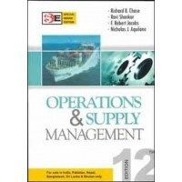 OPERATIONS & SUPPLY MGMT - SIE - DVD 12th Edition|INFINITIMART