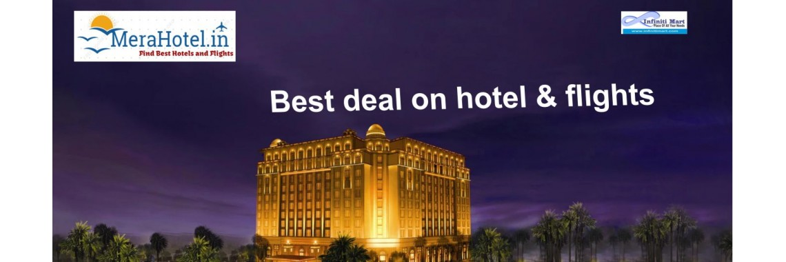 Find best deal on mera hotel.in
