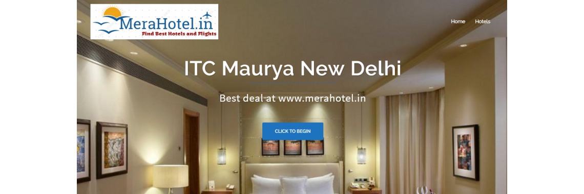 Book room in ITC Maurya hotel at merahotel.in